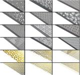 Стикер ногтя стикеров искусствоа ногтя модной картины шнурка смешивания 3D стильный