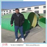 GRP de 600mm de diâmetro do tubo de plástico reforçado com fibra de tubo para venda