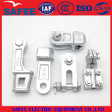 Placa de la horquilla de acero ajustables (ADS/Enlace OPGW de montaje).