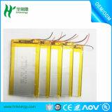 Cellule de batterie au lithium ultra-fin de 3.7V 15mAh-1000mAh