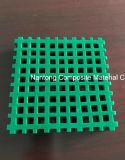 Micro- FRP Grating 40X40-8X8/Fiberglass van het Netwerk Gevormd Grating