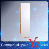 Vitrina Vitrina (YZ161707) de acero inoxidable estante de exhibición de la exposición Cabinet Shop Contador Display Rack