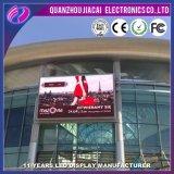 Im Freienörtlich festgelegte installieren P6 farbenreiche LED Wand-Bildschirmanzeige