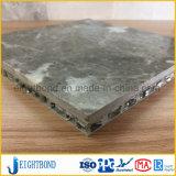 Естественная мраморный составная алюминиевая панель сота для напольного украшения