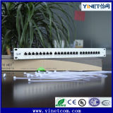 "FTP CAT6 Patch Panel 1u 19 ""24port Shielded Distribution Frame"