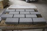 Granito cinzento escuro Cubestone natural, pedra do Paver do granito G654 de China