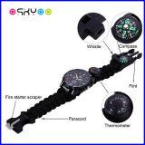 Emergency im Freien Überlebens-Armband 550 Paracord Uhr