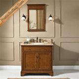 Просто переходная тщета ванной комнаты твердой древесины шкафа ванны Fed-1535