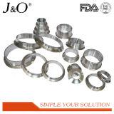 衛生ステンレス鋼連合管付属品は溶接されたはさみ金であるSMS 14