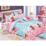 100% algodón Active Impreso conjunto de cama para la boda