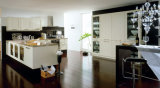 Küche-Schrank-populäre hohe glatte amerikanische Art-Küche-Möbel