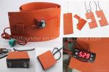 Calefator da borracha de silicone com o termostato indicado Digitas