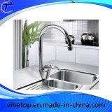 Marché russe d'approvisionnement pour les robinets en métal de cuisine/accessoires en acier de mélangeurs