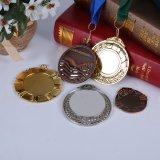 아연 합금은 리본을%s 가진 기념품 포상 스포츠 메달을 주문을 받아서 만들었다