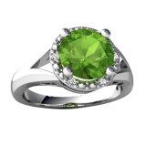 De Islamitische Zilveren Ring met Spiegel bedekt CZ