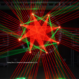 4W RGB Animation Laser Lighting voor Stage Wedding Club