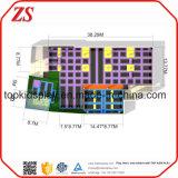 Парк Trampoline /Customized парка Trampoline зоны скачки безопасности крытый