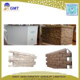 Do teste padrão de pedra do tijolo do painel de tapume do falso do PVC extrusora plástica da máquina