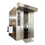 Eléctrica Comercial Diesel Gas estantería giratoria de aire caliente el horno para Restaurante Panadería fábrica para la venta