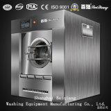 병원 사용 50kg 완전히 자동적인 산업 세탁기 갈퀴 세탁물 기계