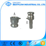 Accoppiamento idraulico del Camlock del tubo flessibile dell'acqua della versione dell'acciaio inossidabile