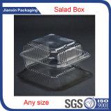 Caja de embalaje desechable de plástico para ensalada