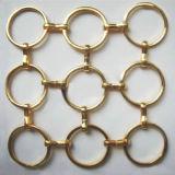 Сетка кольца металла для рассекателя и украшения космоса
