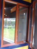 蚊帳とのアルミニウムフレームガラス外へ向かう開始Windows
