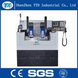 Machine de gravure élevée de commande numérique par ordinateur en verre de téléphone cellulaire de Quatity/couverture