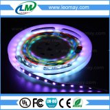 Tiras ideales mágicas del color SMD5050 48LEDs DC12V WS2811 IC LED de DMX