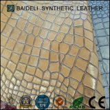Perlige Beschichtung Belüftung-materielles synthetisches Leder für Sofa/Beutel/Schuhe