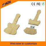 Azionamento di legno dell'istantaneo del USB della chitarra del USB del bastone di bambù di memoria Flash