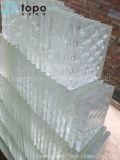 5mm-19mmの酸はエッチングしたガラスによって曇らされた水晶ステレオの芸術ガラス(ATP)を