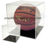 Vente en gros acrylique durable de cas d'exposition de basket-ball