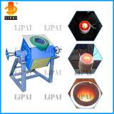 máquina de derretimento da indução 50kg~150kg para o alumínio de aço do ouro do ferro