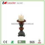 Figurine держателя для свечи штендера Polyresin для домашнего украшения