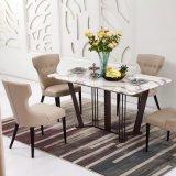우아한 디자인 사각 대리석 대중음식점 테이블 (LT2013)