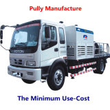 Bomba portátil Diesel versátil do cimento do elevado desempenho da manufatura da polia (HBT40-08-56RS)