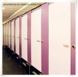 De roze Phenolic Raad van de Verdeling van het Toilet voor de Verdeling van de Deur HPL van de Cel