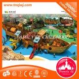 子供の学校のための木の屋外の運動場の娯楽装置機能