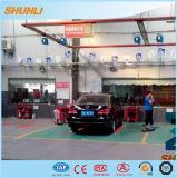 Grua hidráulica do carro para o pneu após a loja da venda