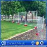 Solutions de clôture provisoires enduites de PVC de bonne qualité avec le prix usine
