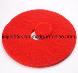 고품질 빨간 닦는 지면 패드