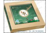 Cmyk de alta qualidade papel cartão Caixa de bolo de lua/embalagem Caixa de oferta de alimentos