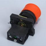 Interruttore di pulsante Emergency del fungo con colore rosso/verde