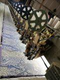 Tessuto del ricamo del voile dei Sequins per il vestito da cerimonia nuziale nuziale di sera