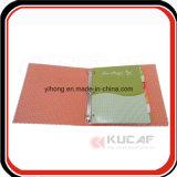 Fourniture de bureau personnalisée A4 Hard Cardboard Ring Binder Notebook