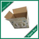Flacher verpackender steifer gewölbter Karton-Ablagekasten