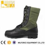 Ejército de tela de camuflaje Miliyaty botas de la jungla