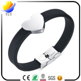 Smart Kinds of Sports Silicone Bracelet e Customized Logo Feito pulseira de PVC e pulseira de borracha para presentes promocionais